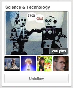 Science and Technology Pinterest page