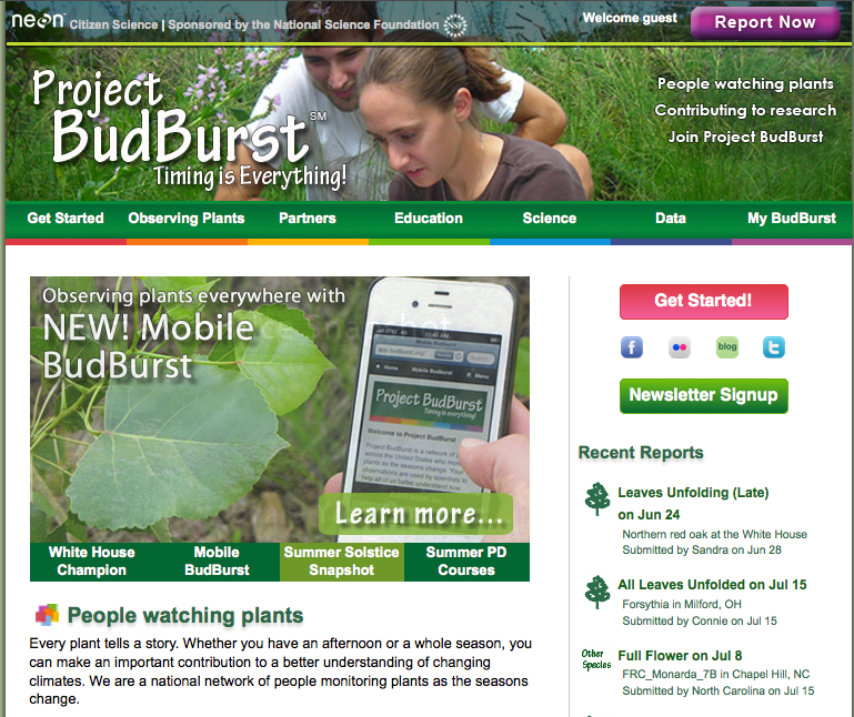 Mobile Apps for Citizen Science | Smithsonian Science