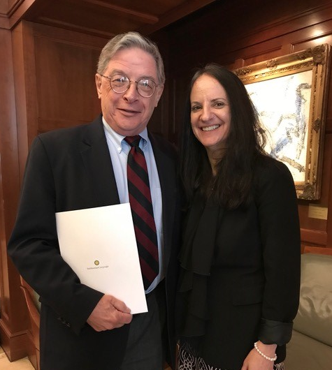 Image of Dr. Lapp and Dr. O'Donnell
