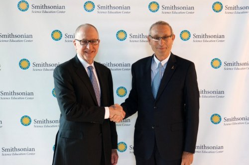 Dr. Skorton and Professor Ben-Sasson