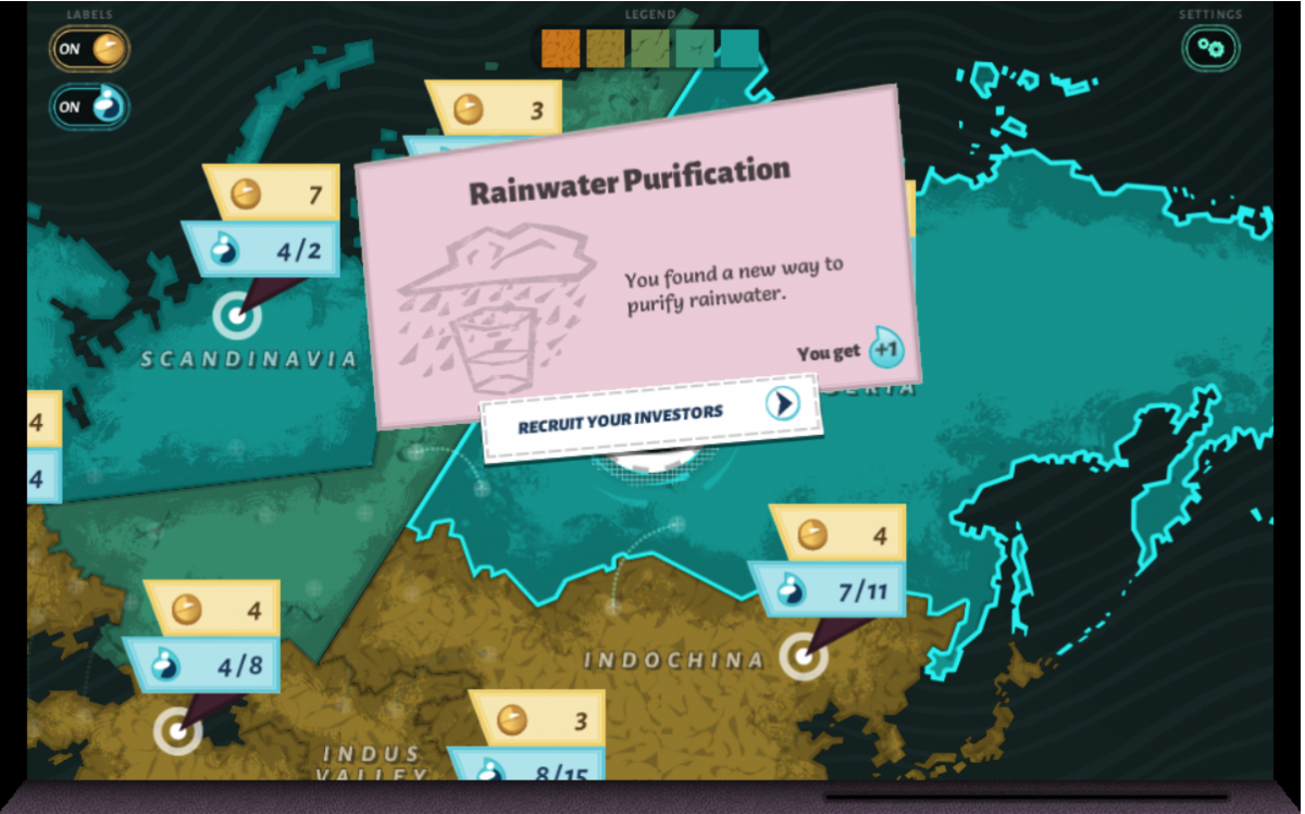 Image from Aquation, The Freshwater Access Game