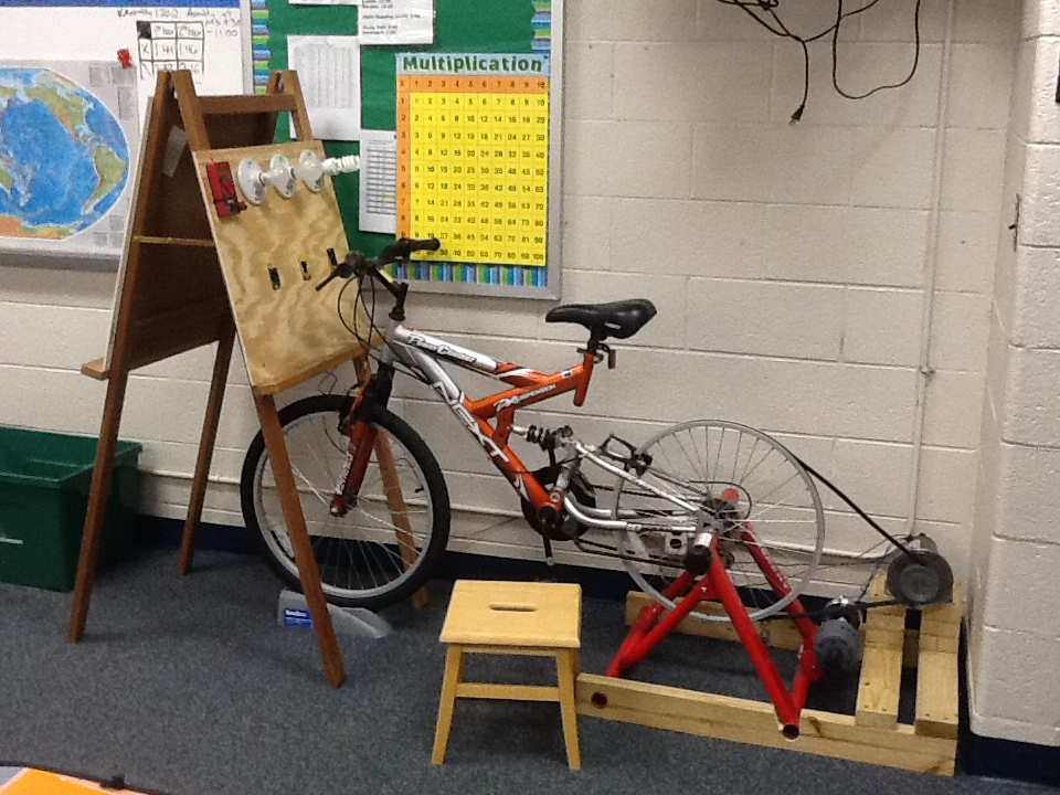 Bike Powered Generator Made In Science Class Smithsonian Science