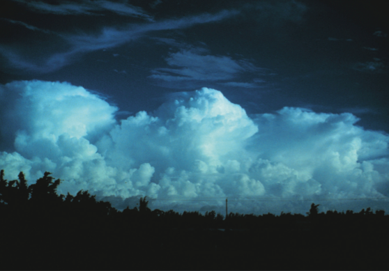 Image of cumulonimbus clouds