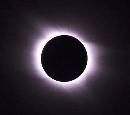Image of total eclipse