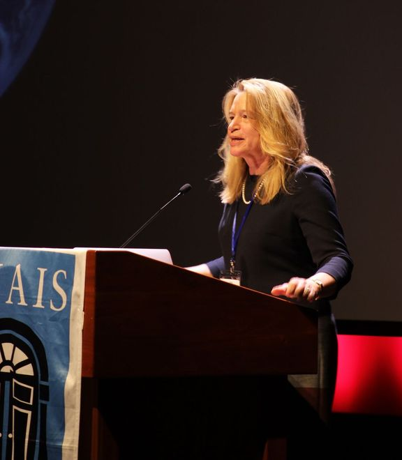 Dr Ellen Stofan, former Chief Scientist for NASA, was recently named the Head of the Smithsonian's National Air and Space Museum in Washington, D.C.