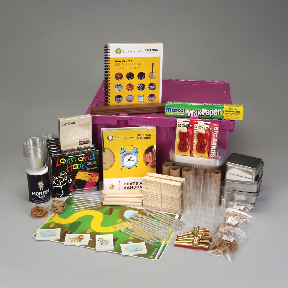 Image of Smithsonian Science for the Classroom