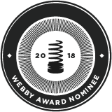 Nominated for a Webby People's Voice Awards