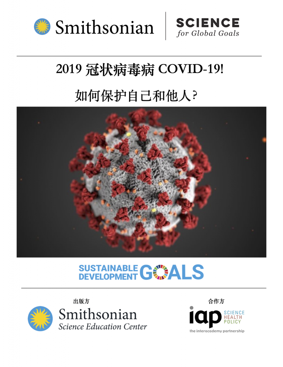 Cover of COVID-19 in Chinese