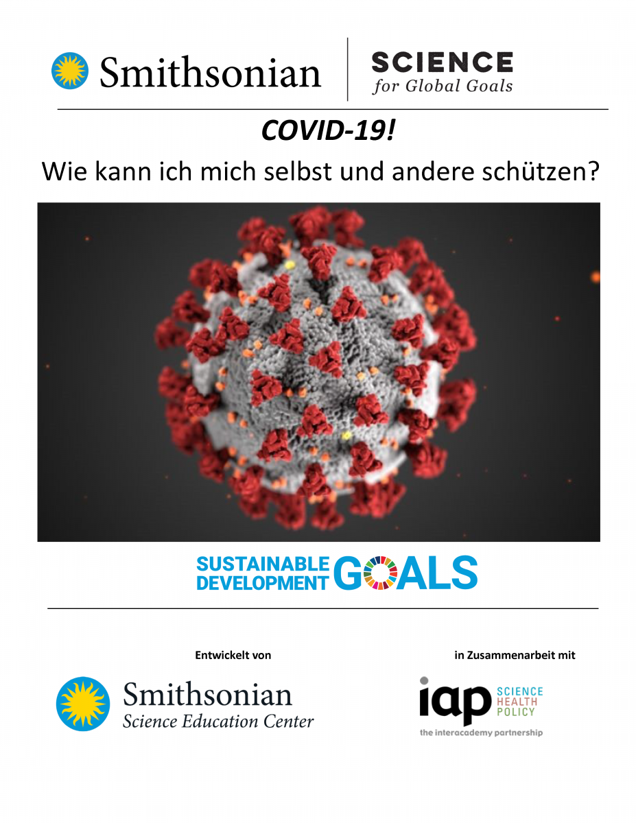 Cover of COVID-19 in German