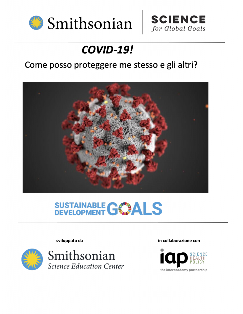 Cover of COVID-19 in Italian