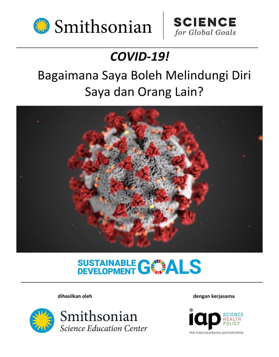 Cover of COVID-19 in Malay
