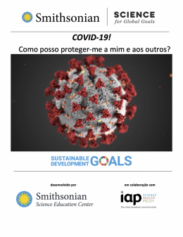 Cover of COVID-19 in Portuguese