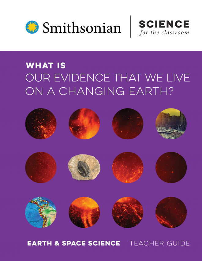 What is Our Evidence that We Live on a Changing Earth? module cover.