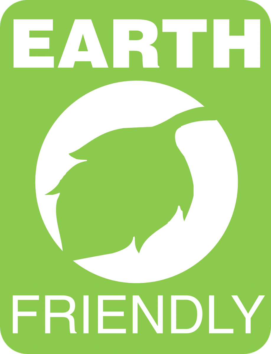 Earth friendly label