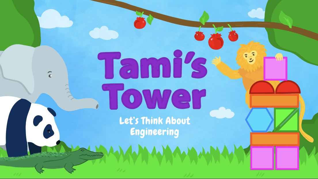 Cover image from Tami's Tower: Let's Think About Engineering