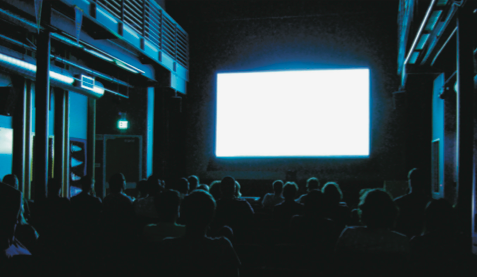 Image of a movie screen