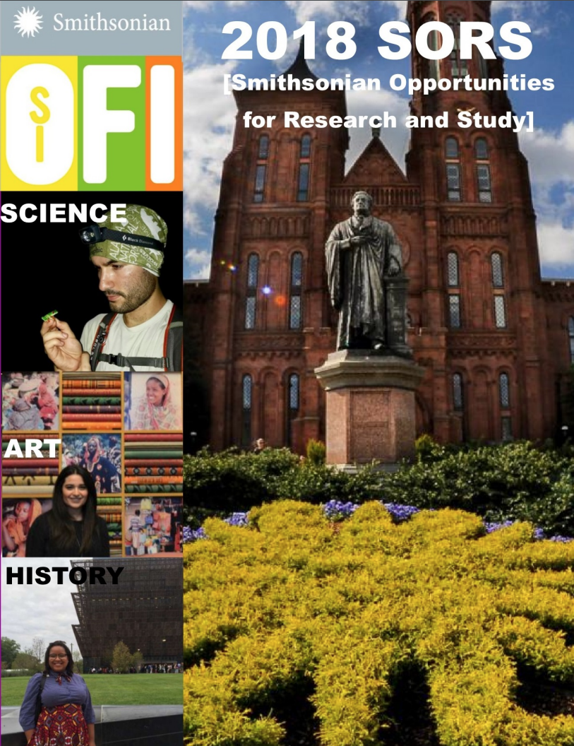 Cover of the Smithsonian Opportunities for Research and Study Guide