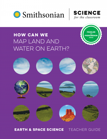 How Can We Map Land and Water on Earth?