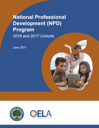 National Professional Development Program: 2016 and 2017 Cohorts Report Cover