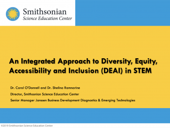 Cover image for STEM Leadership Alliance 2020 presentation