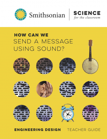 Image for the cover of the module titled, How Can We Send A Message Using Sound?