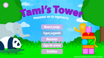 Tami's Tower Title Screen