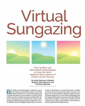 Virtual Sungazing