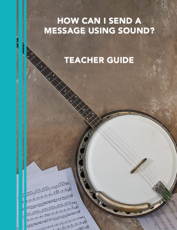 "Cover of ""How Can I Send a Message Using Sound?"""