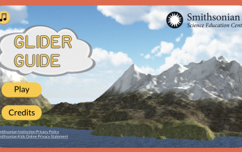 Glider Guide Title Screen