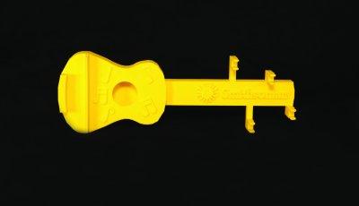 Image of 3D printed guitar