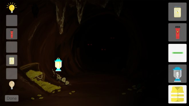 Light Up the Cave in-app screenshot