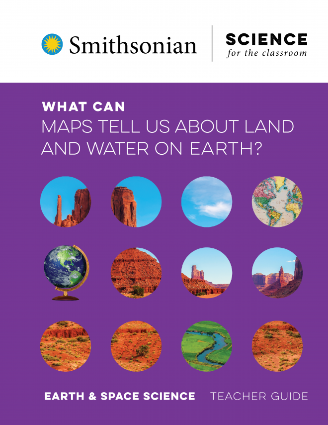 What Can Maps Tell Us About Land and Water on Earth?