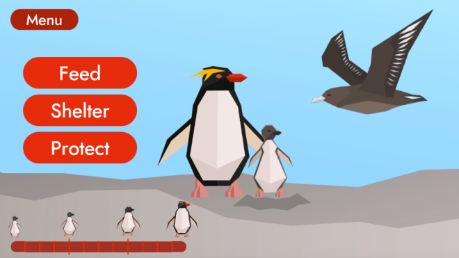 Penguin Protection in-game screenshot