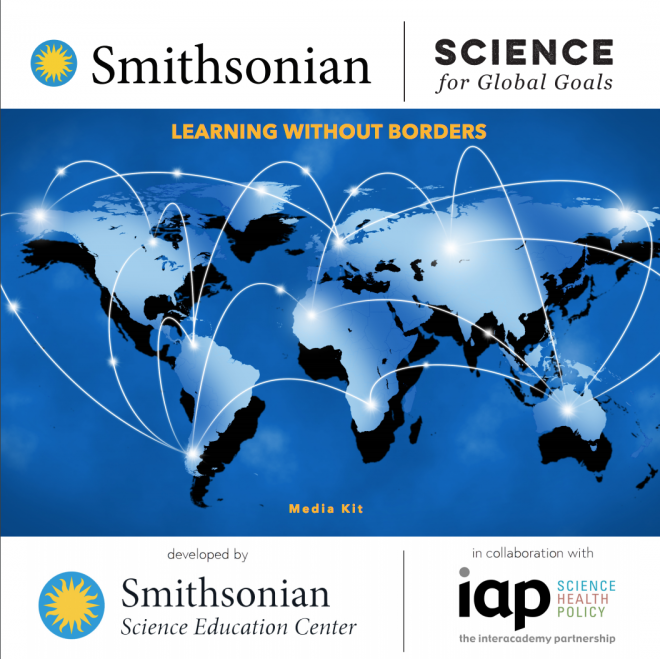 Image of the cover of Smithsonian Science for Global Goals Media Kit