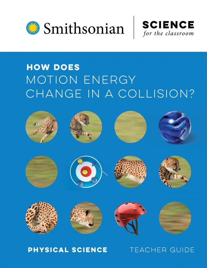 Image for How Does Motion Energy Change in a Collision?