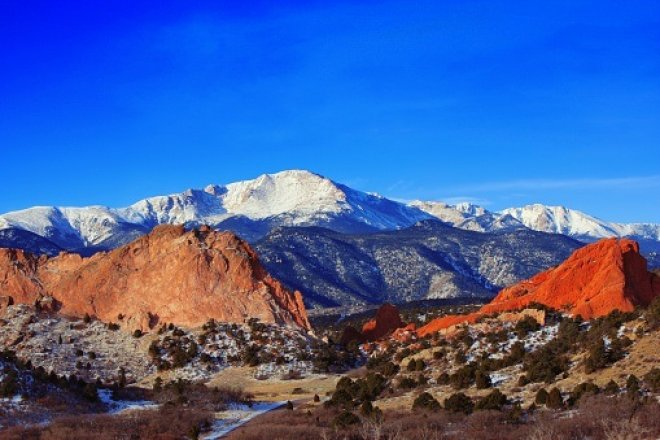 Pikes Peak, CO. Credit: Thinkstock