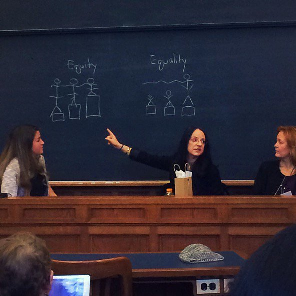 Dr. Carol O'Donnell at Yale Law School's Women in Leadership conference.
