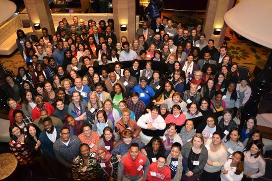 Image of participants at Teach to Lead's 11th teacher leadership summit.