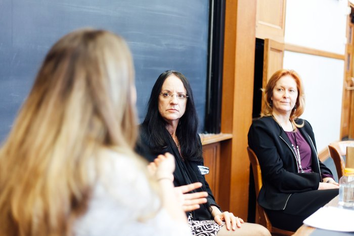 "Dr. Carol O'Donnell at the Yale Law School's ""Women in Leadership Conference"""